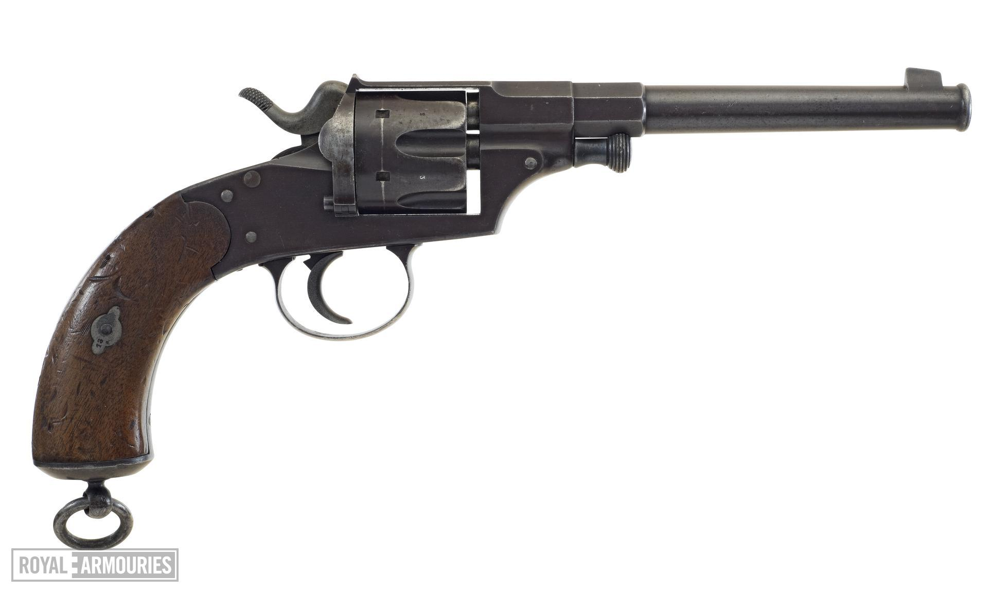 Centrefire six-shot revolver - Ordnance Model 79 Also known as a Reichsrevolver.