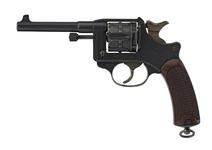 Thumbnail image of Six shot military revolver (Model 1892 revolver). French, dated 1914