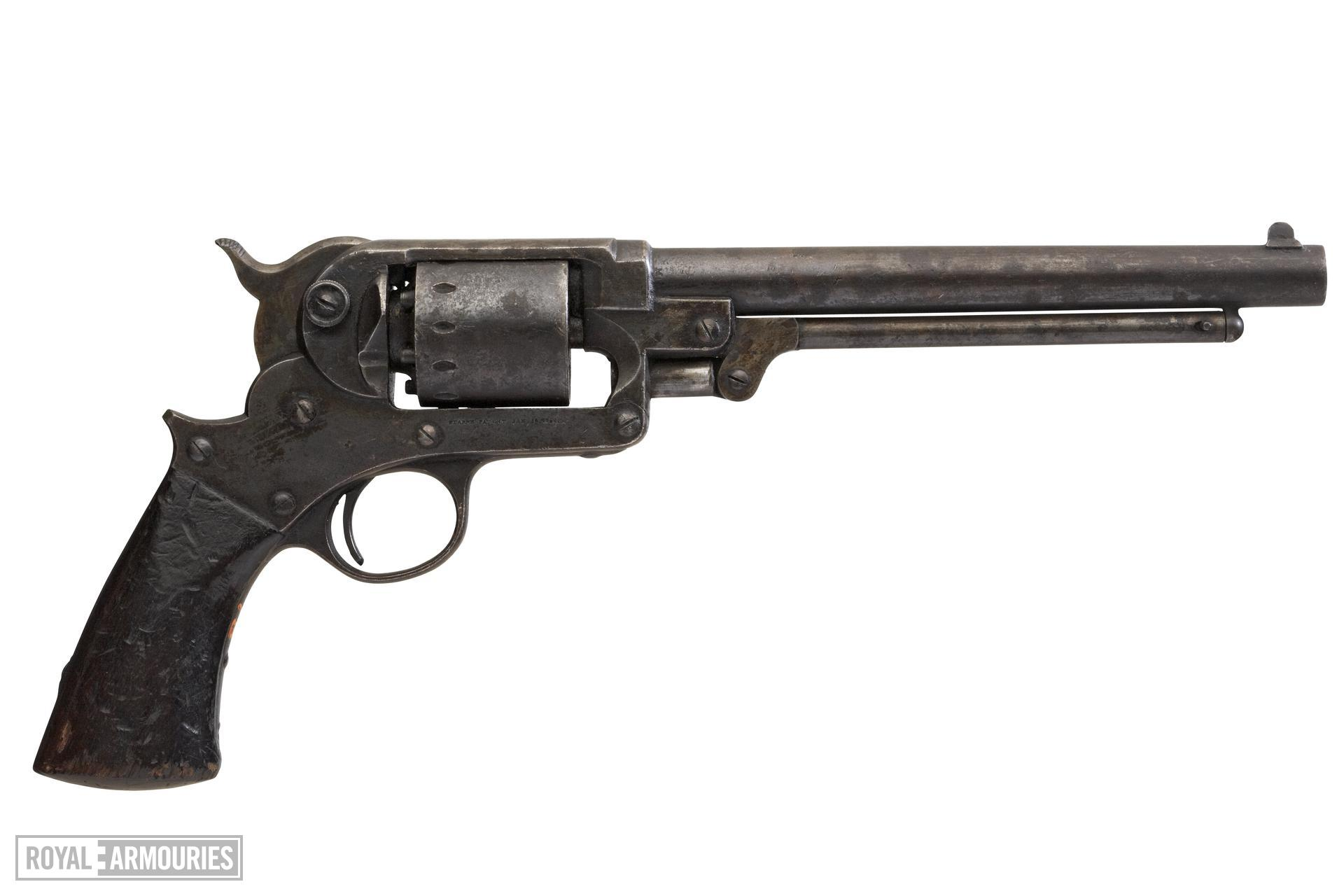 Percussion six-shot revolver - Starr Army Model 1858