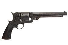 Thumbnail image of Percussion six-shot revolver - Starr Army Model 1858