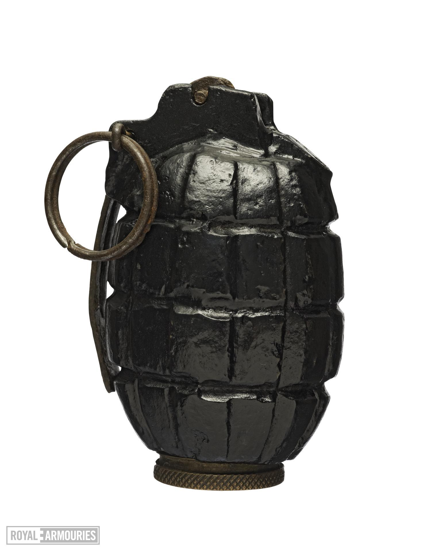 Grenade - Number 5 'Mills' hand grenade