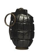 Thumbnail image of Hand grenade (No. 5 Mk. I Mills bomb). British, 1915