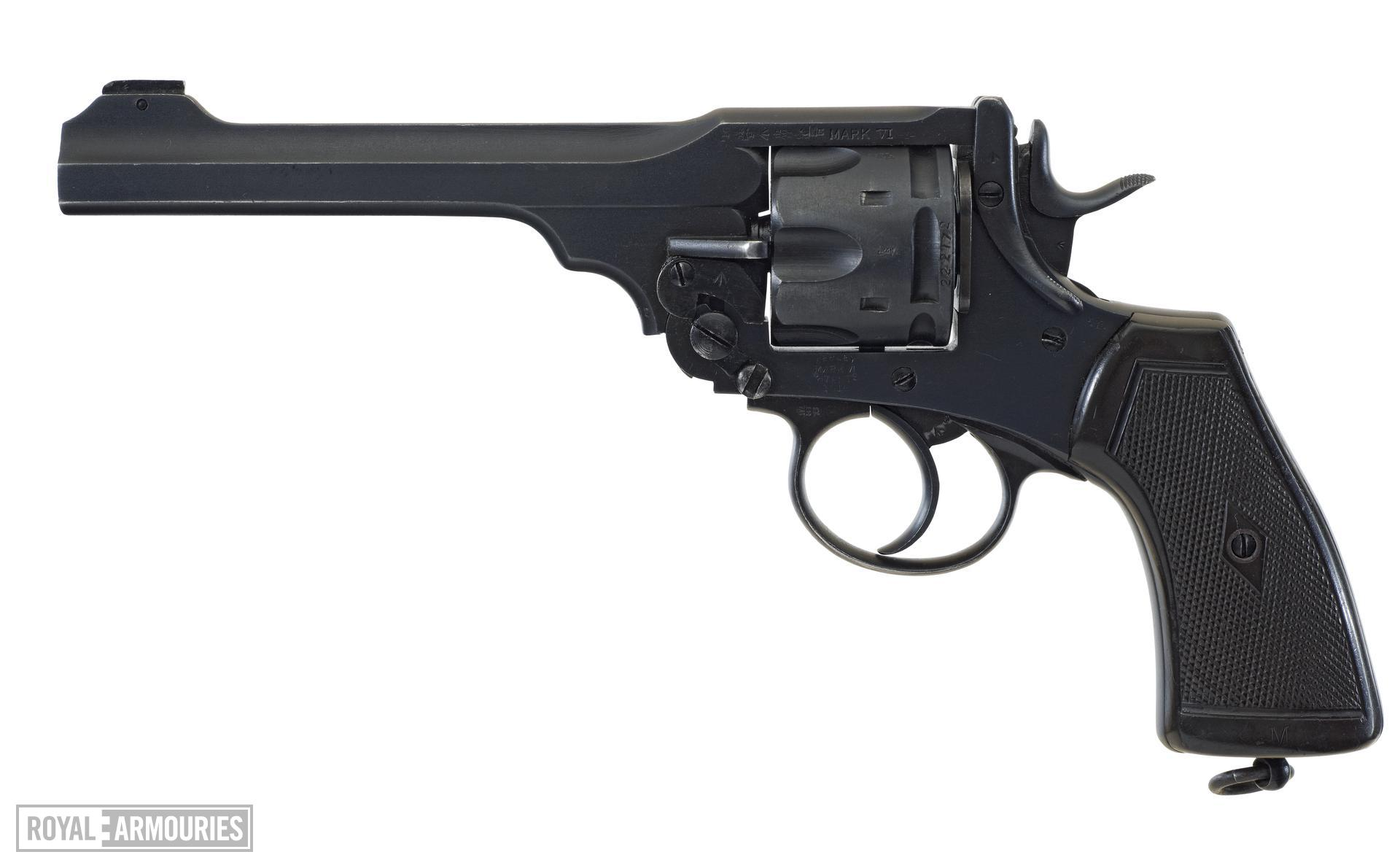 Centrefire six-shot military revolver - Webley Mk.VI
