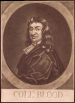 Thumbnail image of Print Mezzotint portrait of Colonel Thomas Blood, by George White (eng.).
