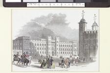 Thumbnail image of Illustration of proposed design for the Waterloo Barracks