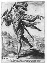 Thumbnail image of Prints Military figures drawn by Jacob de Gheyn