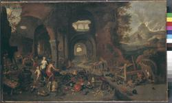Thumbnail image of Painting - Venus at the forge of Vulcan