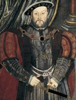 Thumbnail image of Painting Portrait of Henry VIII, after Holbein, oil on panel