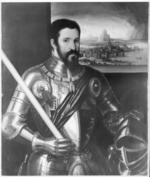 Thumbnail image of Painting portrait of the Duke of Alba.