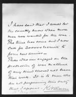 Thumbnail image of Autographed letter from Lord Kitchener, dated 1915 (KIT 1)