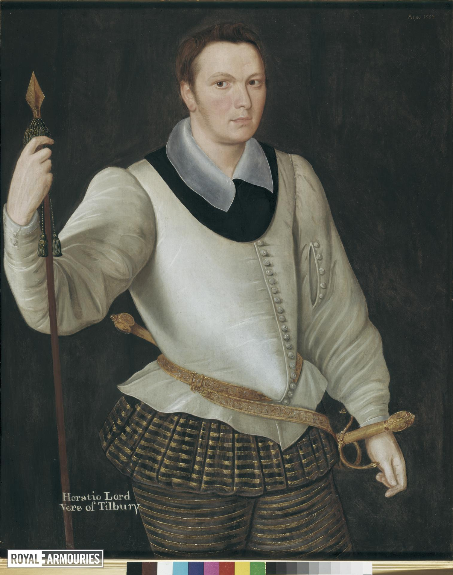 Painting - Horace, Lord Vere of Tilbury