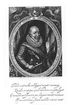 Thumbnail image of Print Engraved portrait of George Carew, Earl of Totnes, 1555-1629.
