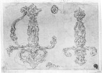 Thumbnail image of Drawing Design for a sword hilt