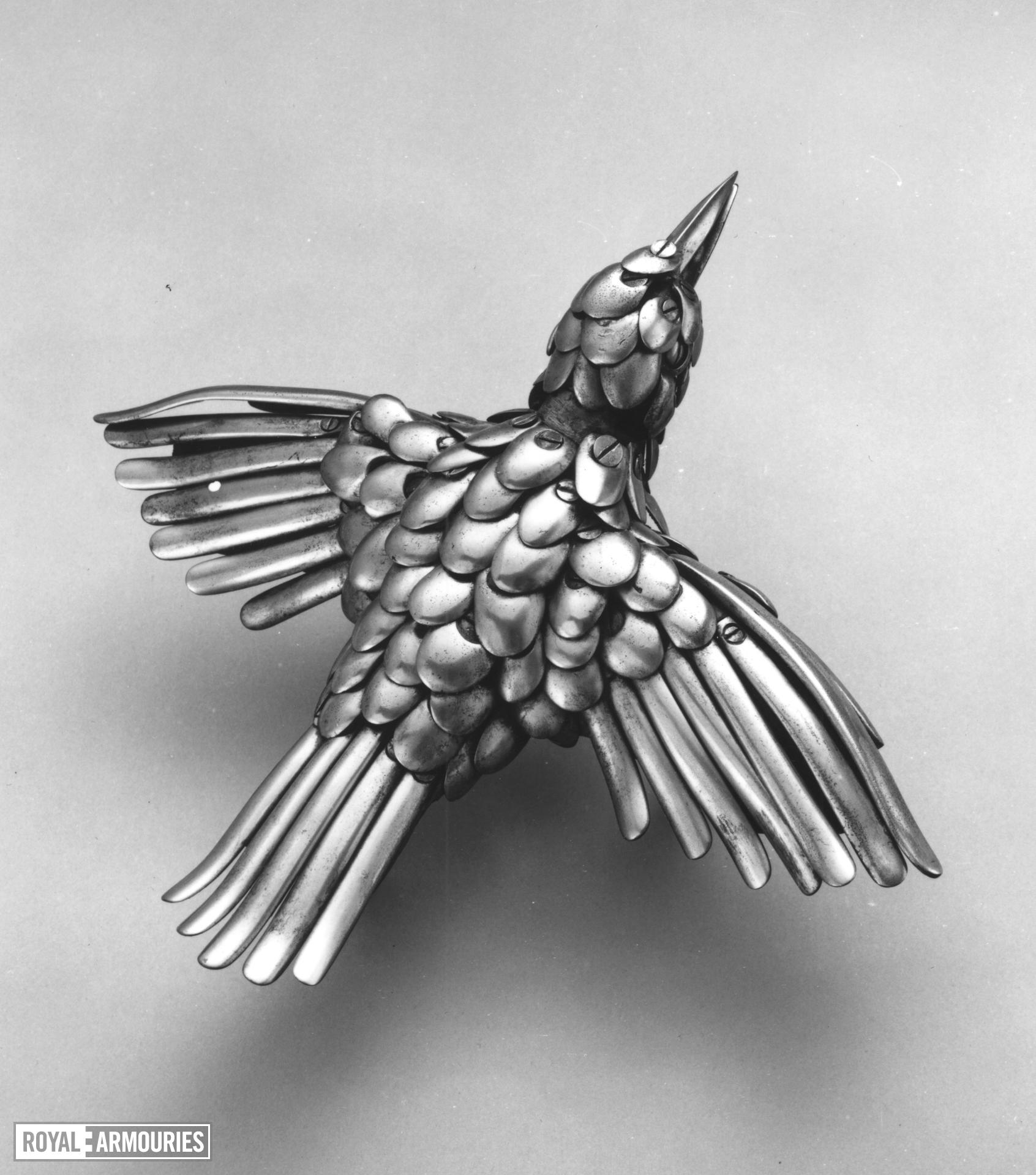 Trophy Of parts in form of a bird