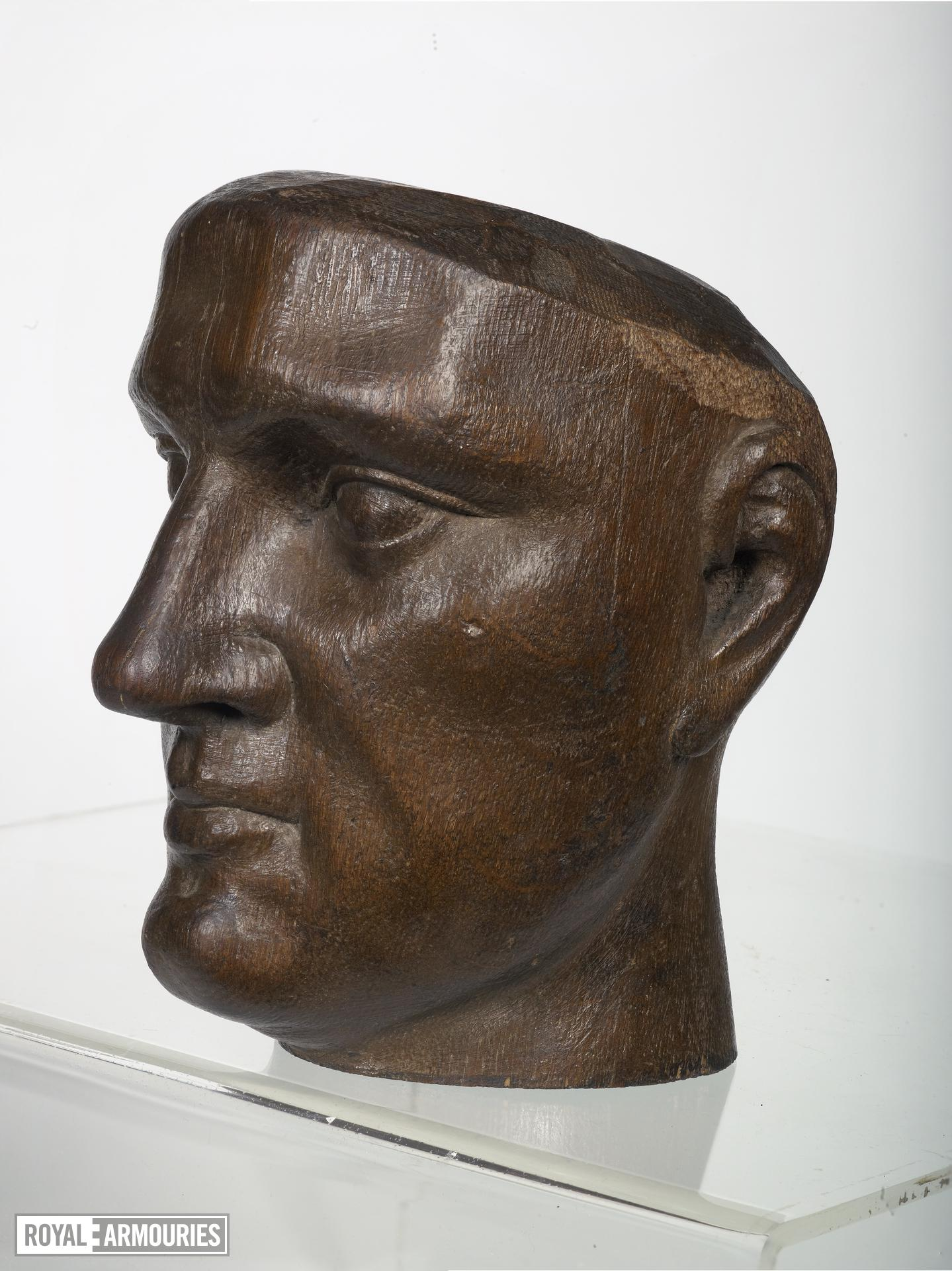 Wooden head Possibly Henry V