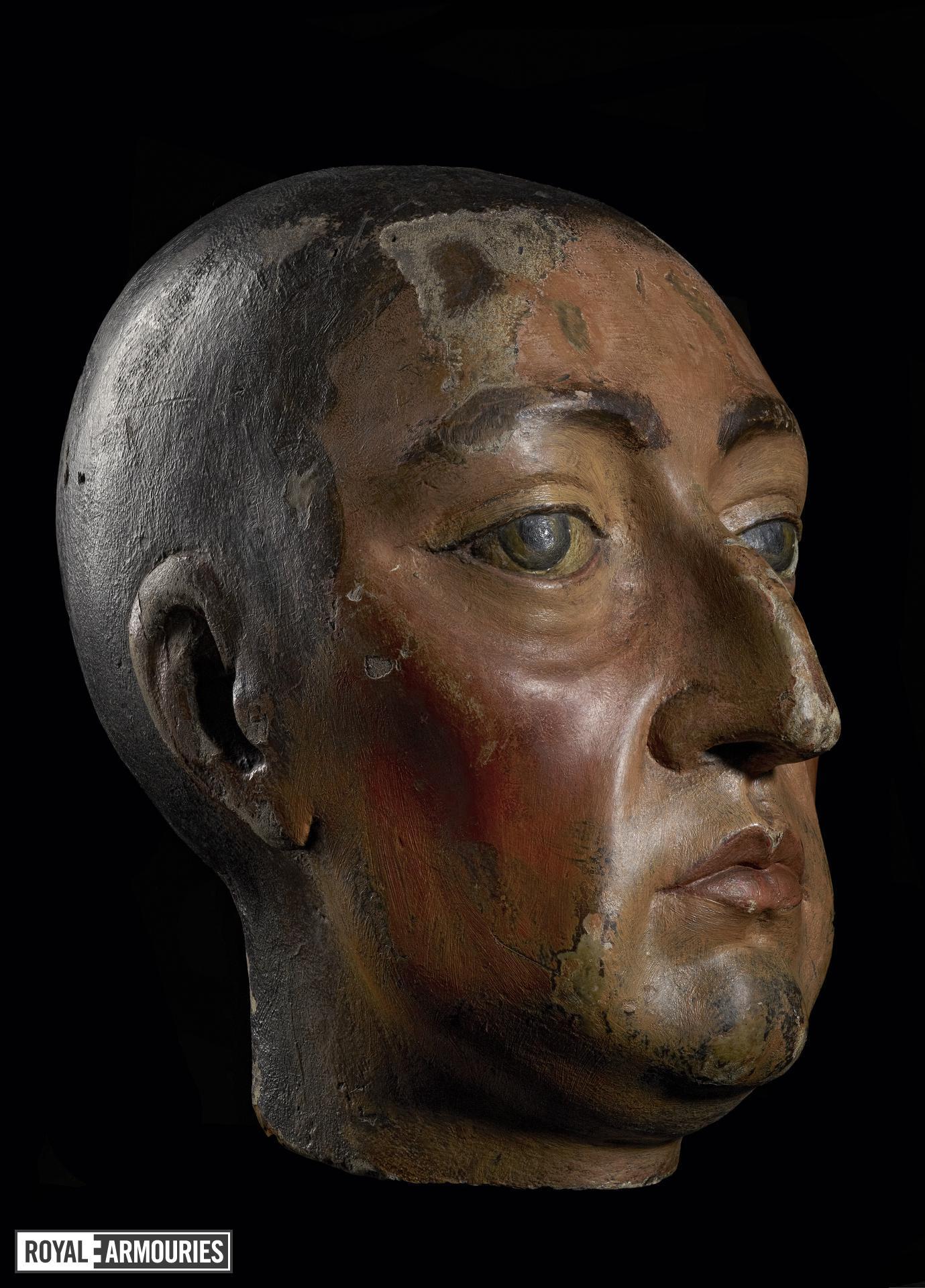 Wooden Head of William III?