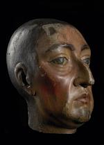 Thumbnail image of Wooden Head of William III? Carved wooden head of William III ?