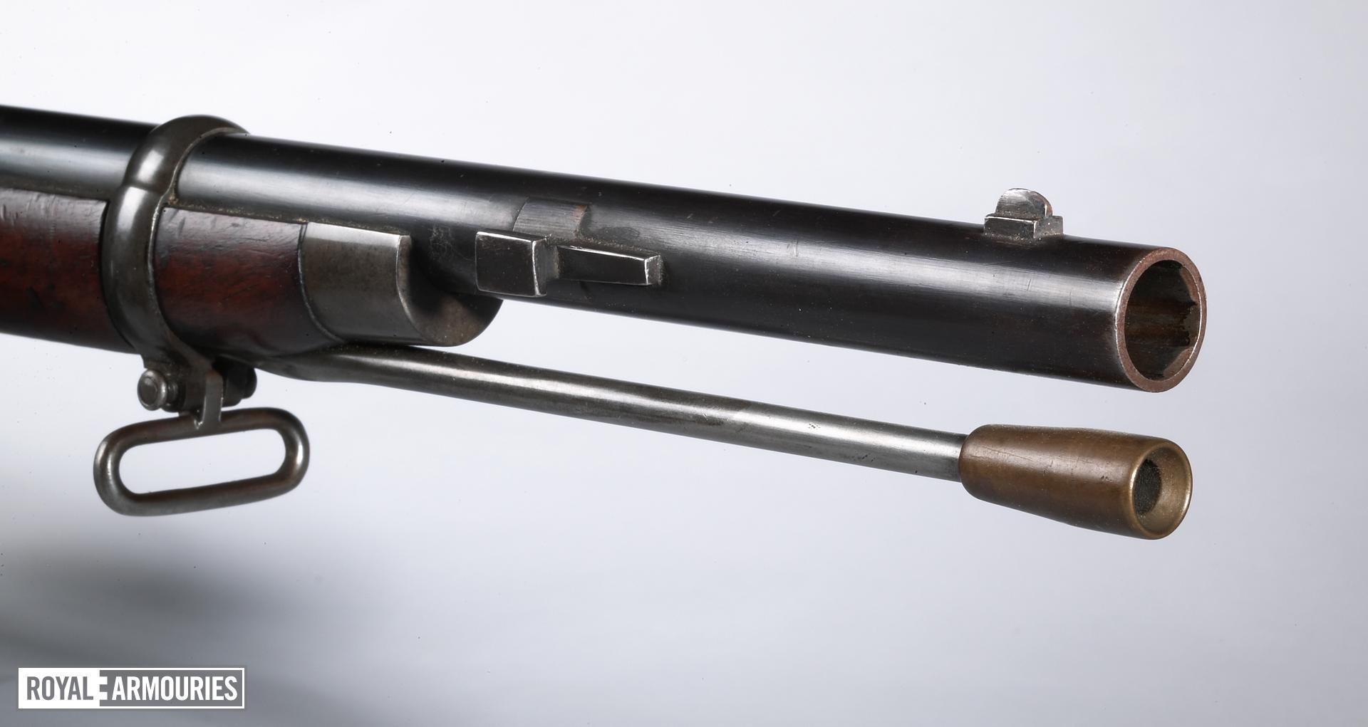 Percussion muzzle-loading military rifle - Jacob Pattern 1853