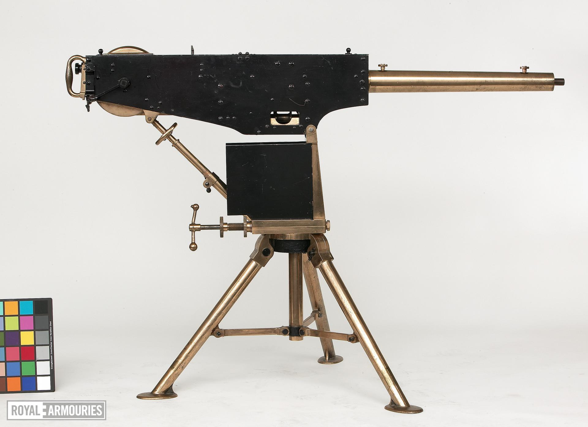Centrefire automatic machine gun - Experimental Maxim