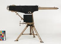 Thumbnail image of Centrefire automatic machine gun - Experimental Maxim Very early prototype of the Maxim machine gun with rotary feed.