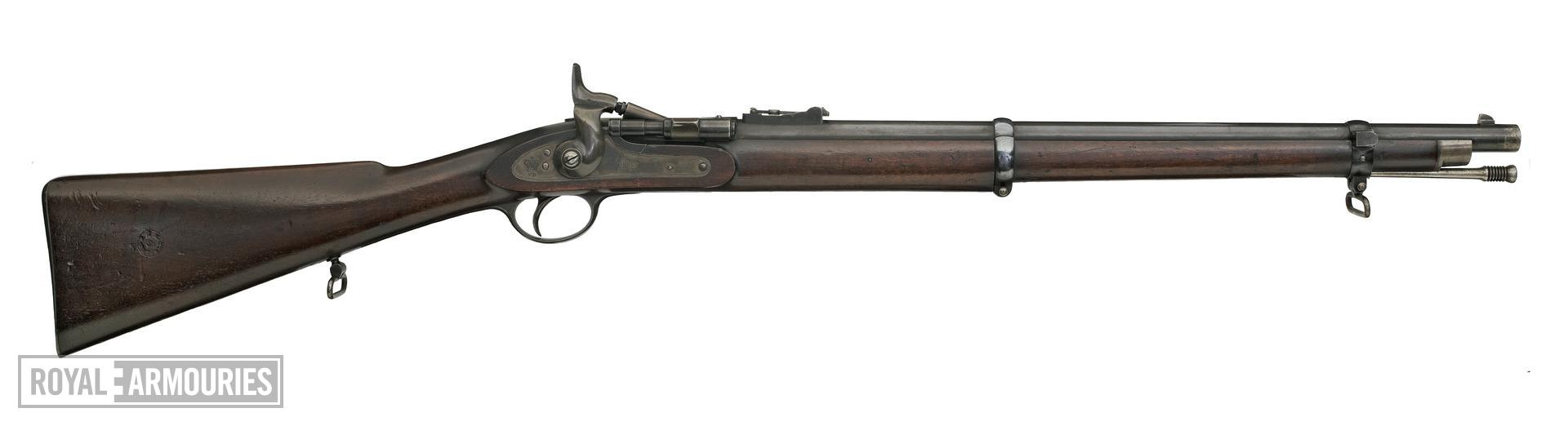 Centrefire breech-loading carbine - Snider for Irish Constabulary, sealed pattern
