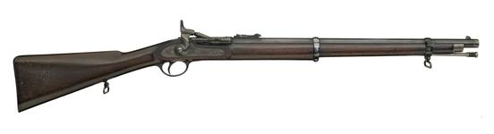 Thumbnail image of Centrefire breech-loading carbine - Snider for Irish Constabulary, sealed pattern Irish Constabulary model.