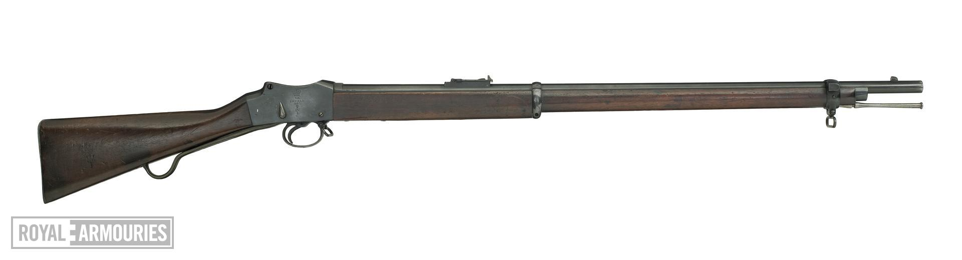 Centrefire breech-loading rifle - Martini-Henry Mk.IV A