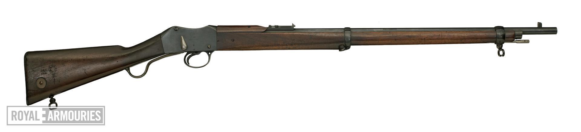 Centrefire breech-loading rifle - Martini-Enfield Mk.II, sealed pattern