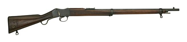 Thumbnail image of Centrefire breech-loading rifle - Martini-Enfield Mk.II, sealed pattern Made at Enfield