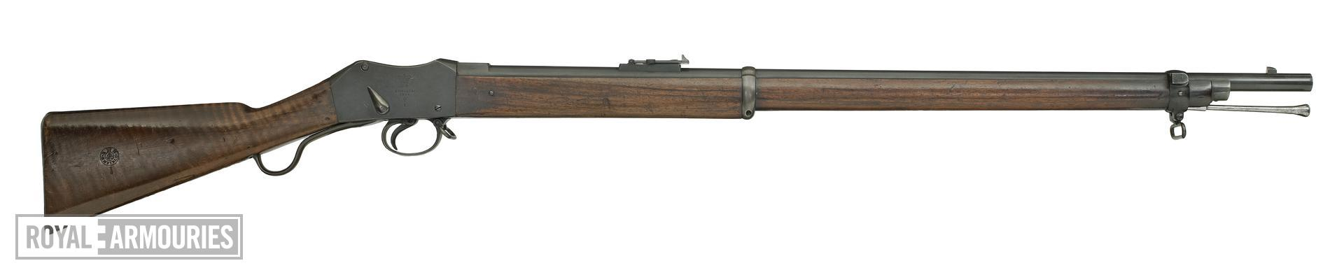Centrefire breech-loading rifle - Martini-Henry Mk.I Made at Enfield RSAF