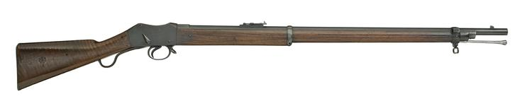 Thumbnail image of Centrefire breech-loading rifle - Martini-Henry Mk.I Made at Enfield RSAF