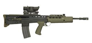 Thumbnail image of Centrefire automatic rifle - SA80 L85A1 Individual Weapon (IW)