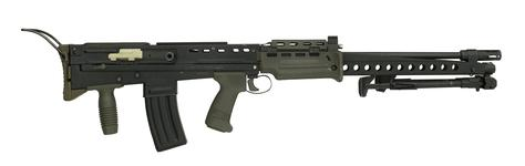 Thumbnail image of Centrefire automatic military rifle - SA80, XL86E2, experimental serial number 1