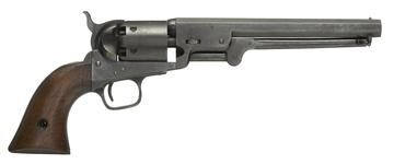 Thumbnail image of Percussion six-shot military revolver - Colt Navy Model 1851 British WD marked