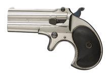 Thumbnail image of Rimfire breech-loading double-barrelled derringer pistol - Remington-Elliot Pattern Double Derringer