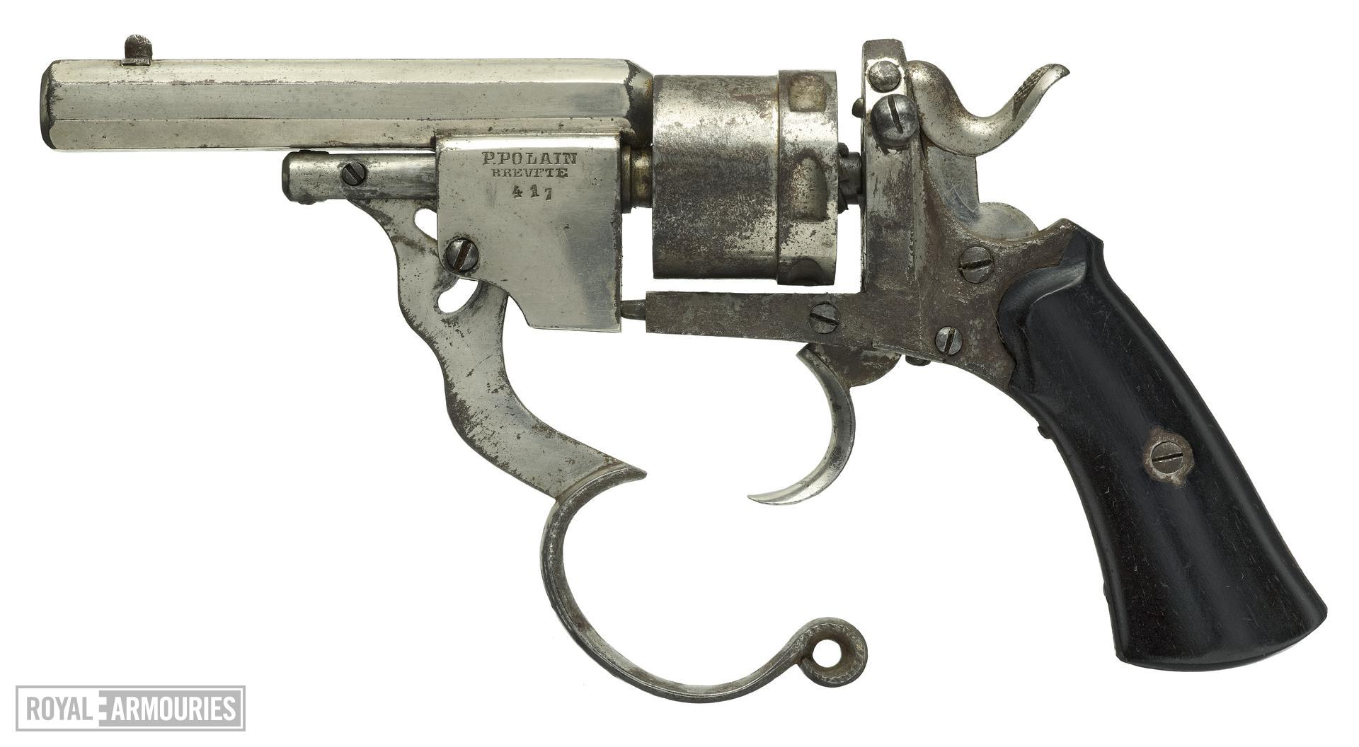 Centrefire six-shot revolver - Polain Self-Ejecting Model