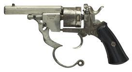 Thumbnail image of Centrefire six-shot revolver - Polain Self-Ejecting Model