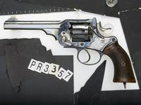 Thumbnail image of Centrefire six-shot revolver - Webley Government Army Model Retailed by P. Webley and Son.