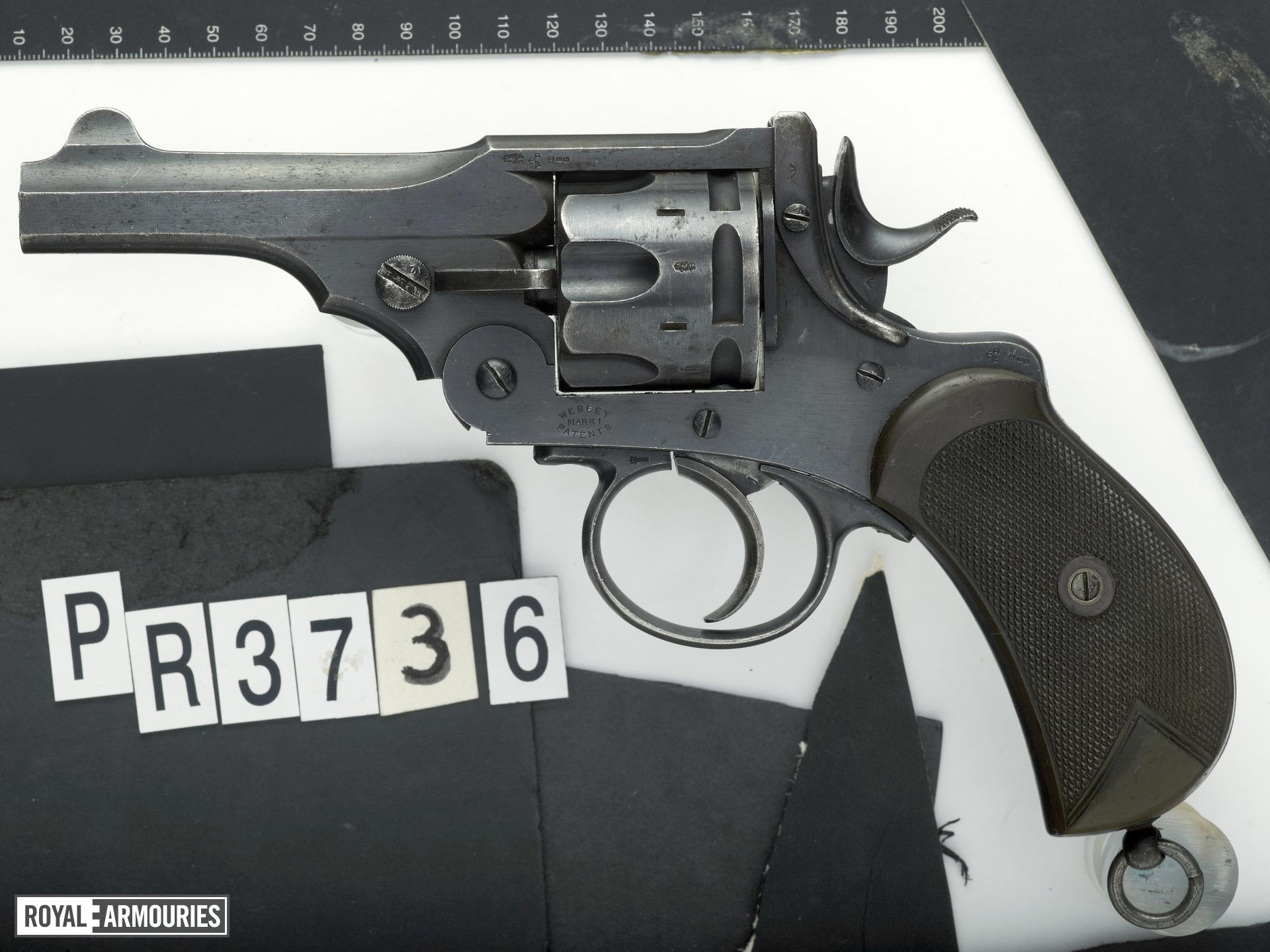 Centrefire six-shot revolver - Webley Mk.I