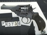Thumbnail image of Centrefire six-shot revolver - Webley Mk.I