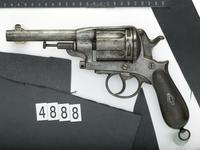 Thumbnail image of Centrefire five-shot revolver - Gasser
