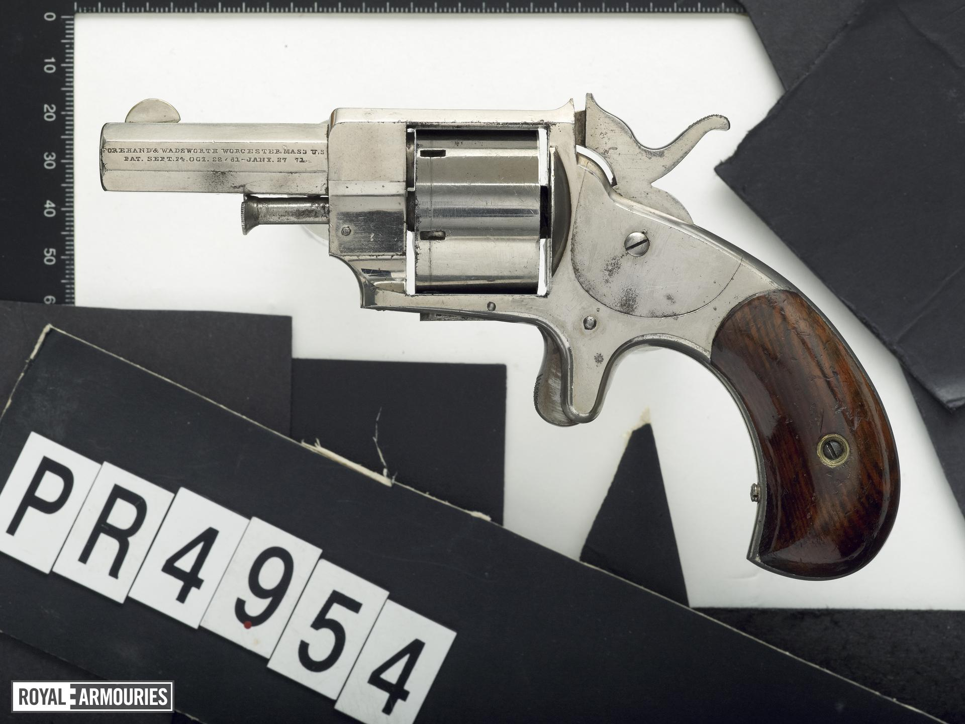 Rimfire six-shot revolver - Forehand and Wadsworth Terror