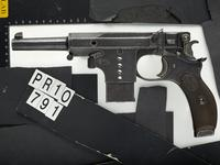 Thumbnail image of Centrefire self-loading pistol - Bergmann Model 1897 No.5
