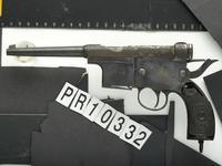 Thumbnail image of Centrefire self-loading pistol - Charola Y Anitua
