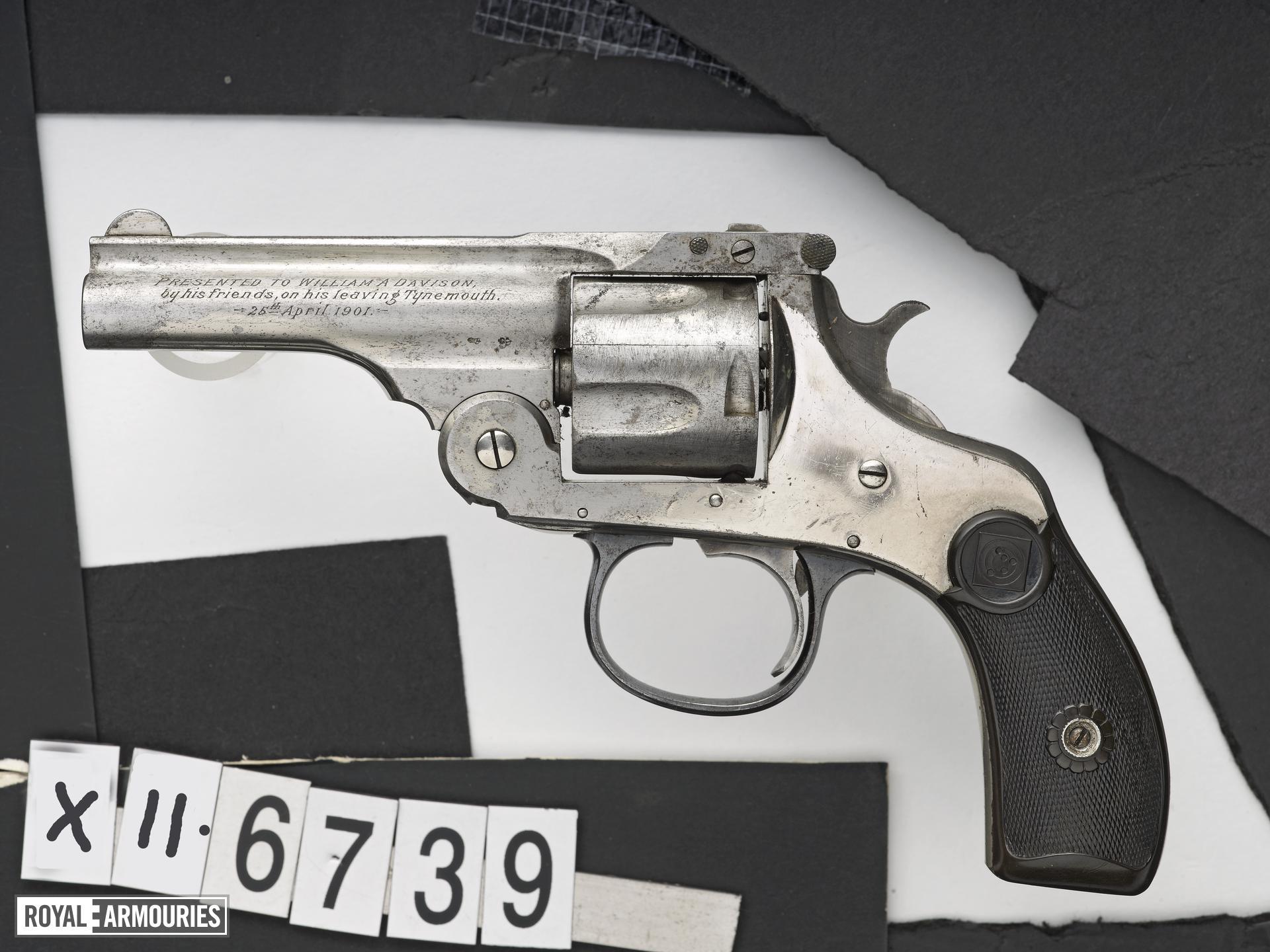Centrefire six-shot revolver - Harrington and Richardson