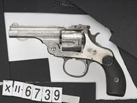 Thumbnail image of Centrefire six-shot revolver - Harrington and Richardson