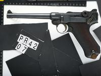 Thumbnail image of Centrefire self-loading pistol - Parabellum P04 Navy Luger Standard German naval variant of the Parabellum Pistole 04.