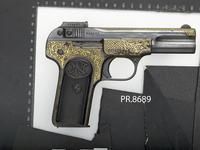 Thumbnail image of Centrefire self-loading pistol - FN Browning Model 1900