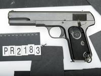 Thumbnail image of Centrefire self-loading pistol - FN Browning Model 1907 Husqvarna model.