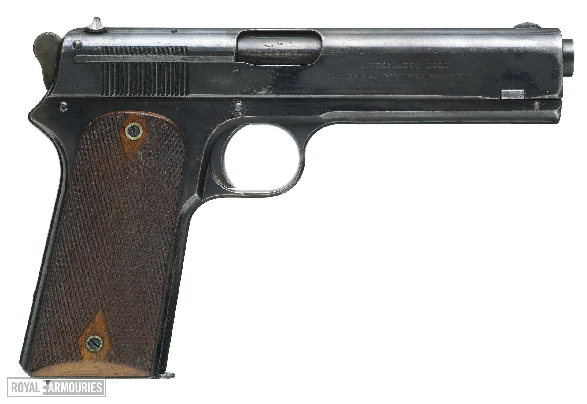 Centrefire self-loading pistol - Colt Model 1905
